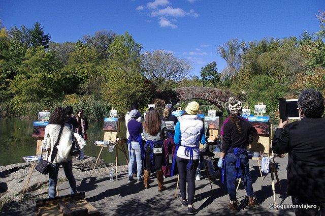 Art classes at Central Park