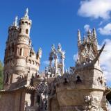 Castillo de Colomares en Benalmádena, transformando una afición en una obra de arte
