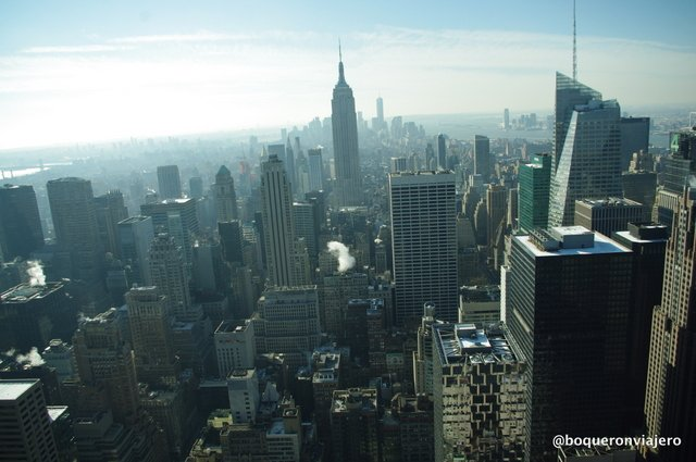 Vistas desde el Top of the Rock