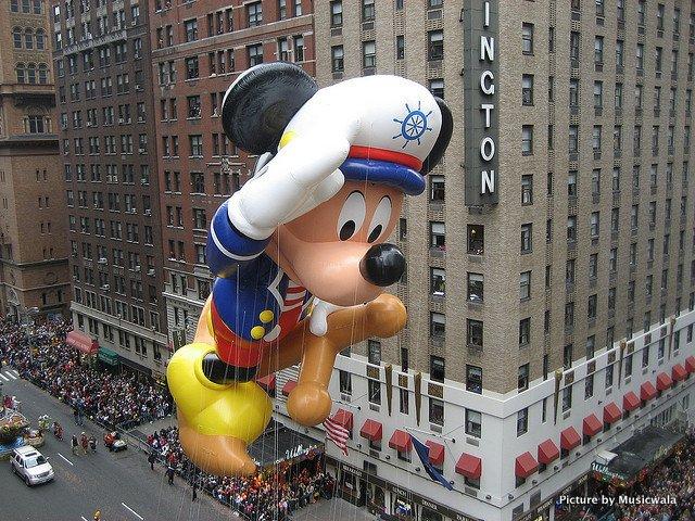 Mickey at Macy's Parade