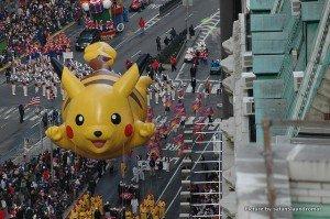 Pikachu at Macy's Parade