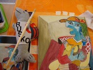 Rusko en la Fundación Picasso Málaga