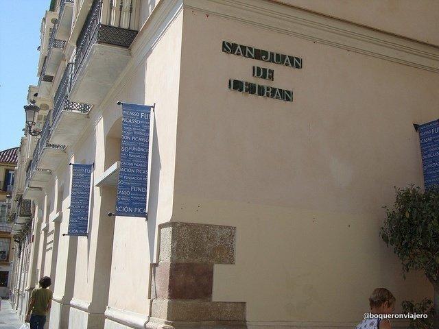 Fachada de la Fundación Picasso Málaga