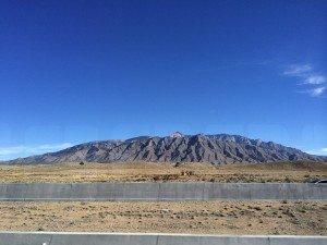 Santa Fe landscape, NM