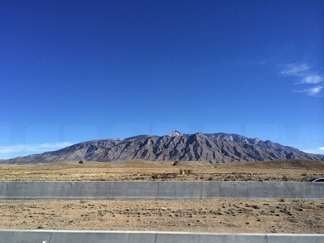Paisaje de Santa Fe, NM