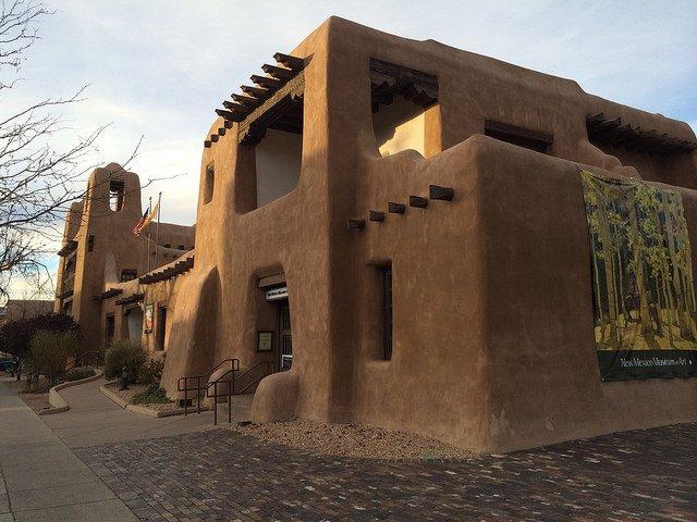 Santa Fe architecture style , NM