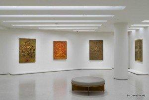V.S Gaitonde at The Guggenheim Museum in New York