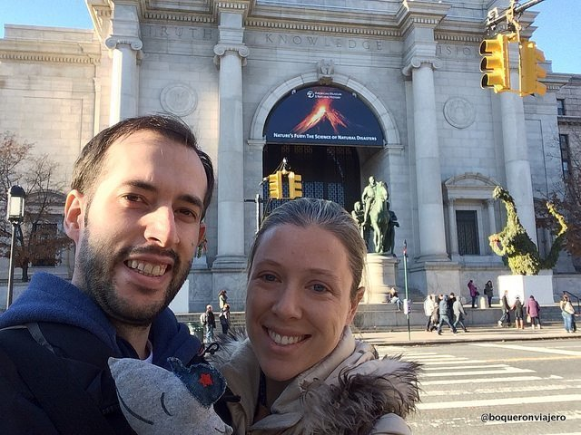 Abby & Pedro at the American Museum of Natural History, New York