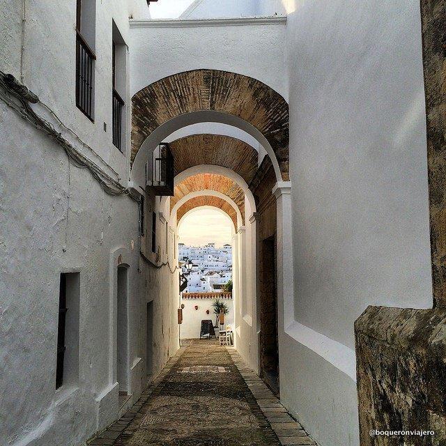 Arco de las Monjas en Vejer