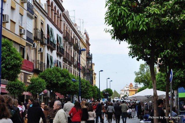 Calle San Jacinto, Triana, Sevilla