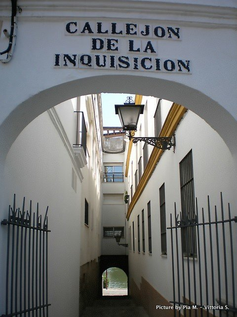 Callejon de la Inquisicion, Triana, Sevilla