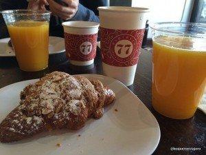 Breakfast at Espresso 77, Jackson Heights