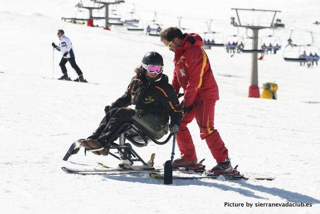 Esquí para Discapacitados en Borreguiles