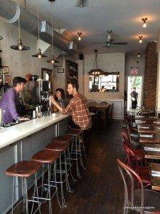 Dinning Room. Dino Restaurant, Brooklyn