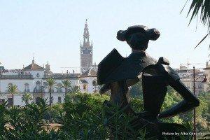 The Plaza del Altozano, Sevilla