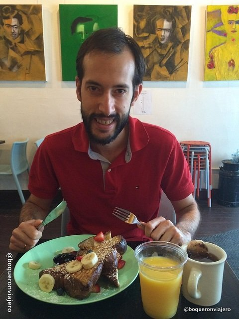Pedro. Espresso 77, Jackson Heights