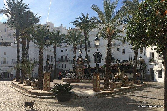 Plaza de España en Vejer