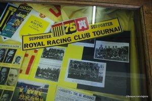 Recuerdos deportivos en el Museo del Folclore Tournai