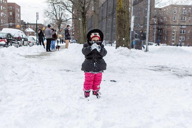 Snow day Juno
