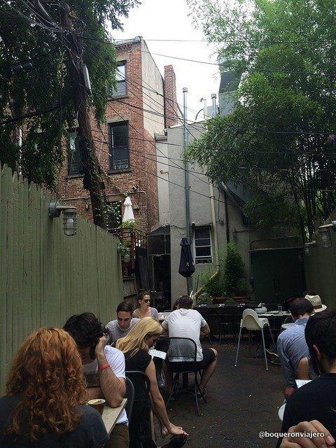Terrace. Dino Restaurant, Brooklyn