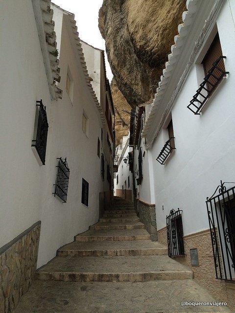Streets of Setenil de las Bodega