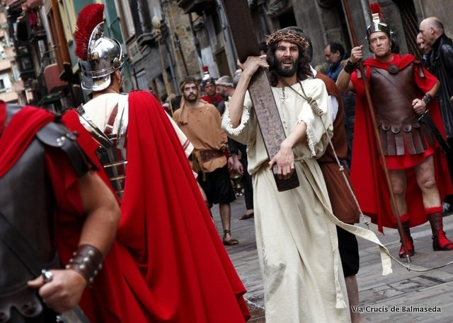 The Passion Brought to life in Balmaseda, another way to experience Holy Week