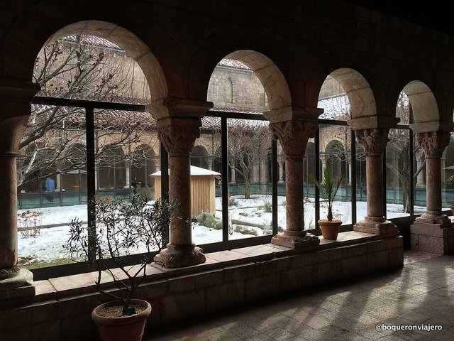 A view to the Cloisters, New York