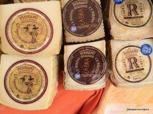 Quesos en el Mercado Mediterráneo Balneario