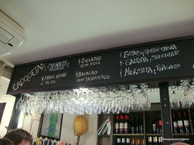 Croquetas in Doña Casta Zaragoza