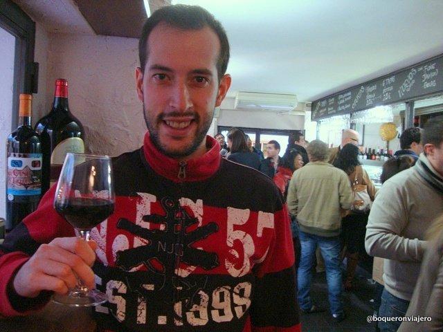 Pedro in La Cueva Zaragoza
