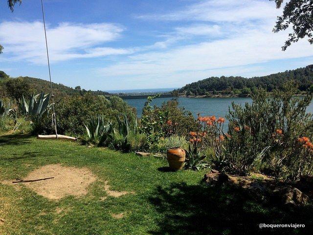 Vistas desde Vella del Pantá situada en Riudecanyes