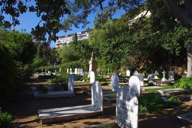 The English Cemetery of Malaga