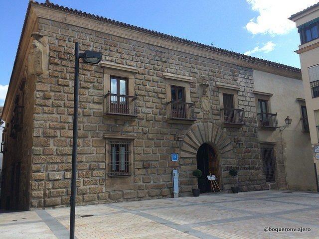 Building of the Hotel Palacio Carvajal Giron Plasencia