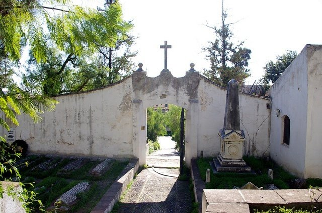 The Inner Cemetery of the English Cemetery of Malaga