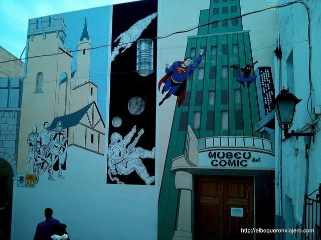 Museo del Comic en Calpe