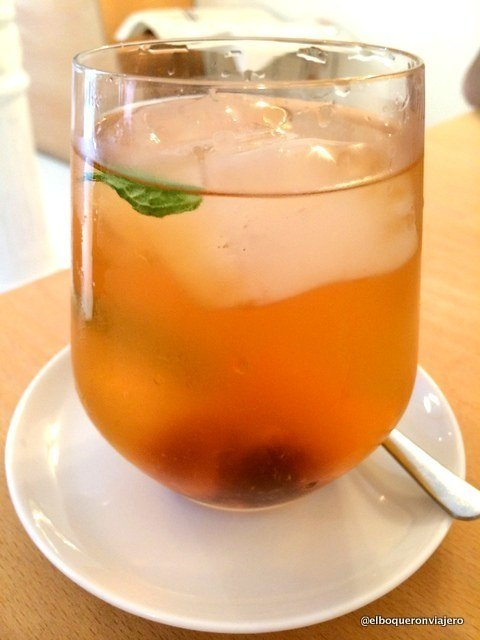 Ice Tea de Julia Bakery Málaga