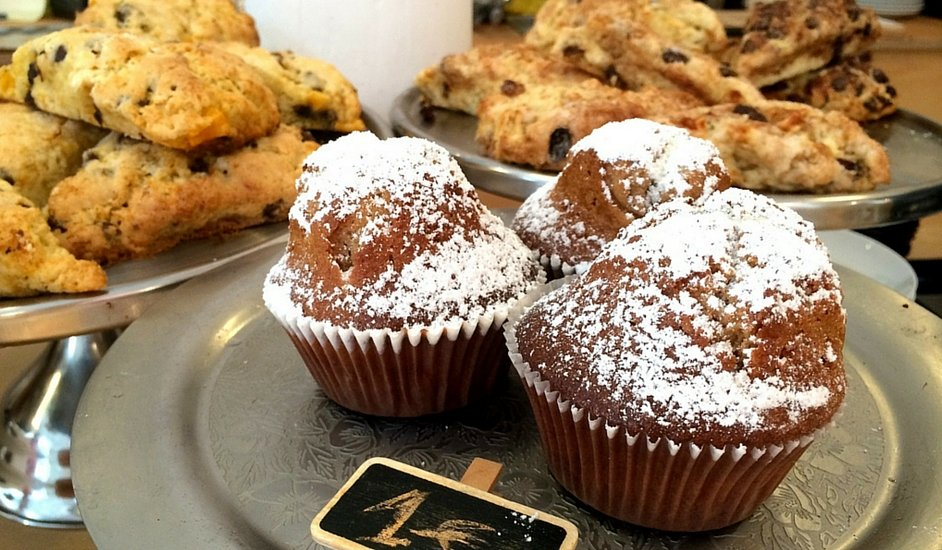 Julia Bakery Málaga, a perfect café to relax and enjoy a cupcake