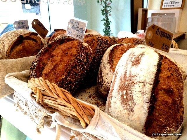 Artisan breads from Julia Bakery Málaga