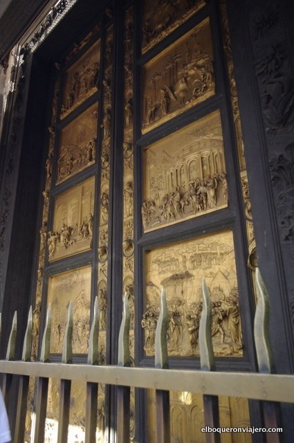 Door to Paradise, the entrance to the Baptistery of San Juan