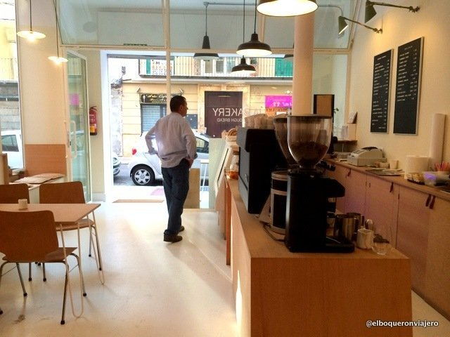 Inside Julia Bakery Málaga