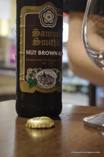 Brown Ale en La Botica de la Cerveza