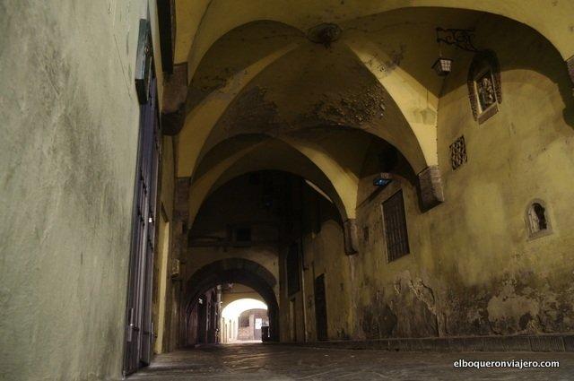Calles de Florencia de noche