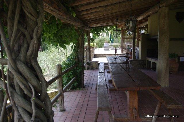 Azienda Il Palagio; the rural house