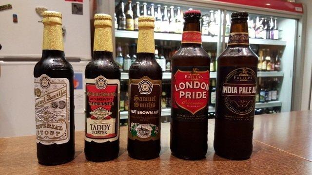 Todas las cervezas que probamos