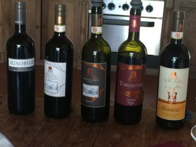 The wines of the Azienda Agricola Il Palagio