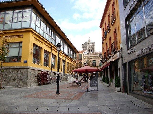 Paseando por las calles de Ávila