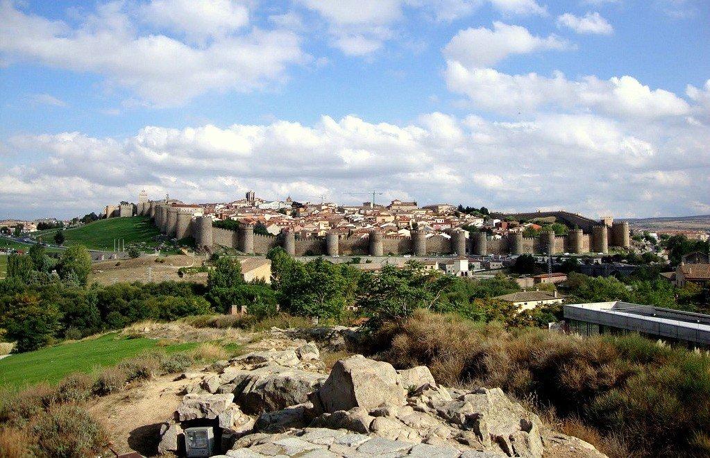 Ávila desde los Cuatro Postes