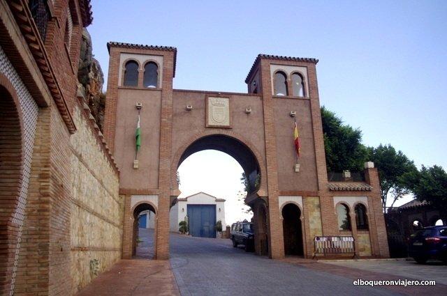 Arco de Málaga en Comares