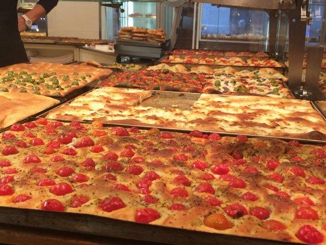 Focaccias en Milán Food Tour