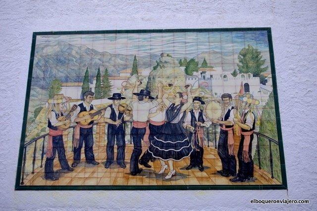 Plaza de los Verdiales en Comares
